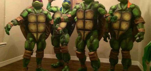 Best Halloween Costumes from Halloween 2014, Ninja Halloween costume