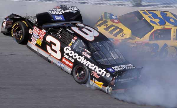 Heartbraking moments in sports -  Dale Earnhardt Sr.