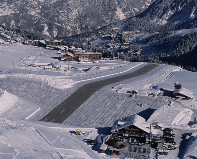 Most Dangerous Airport - Courchevel Airport, France