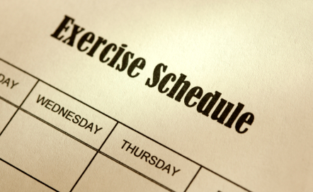 exercise schedule - reasons to hate exercise