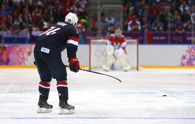 Greatest Sports Moment - T. J. Oshie's Shootout