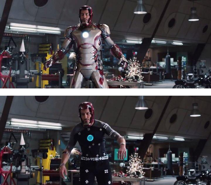 Behinde the scenes of some great movies - Iron Man