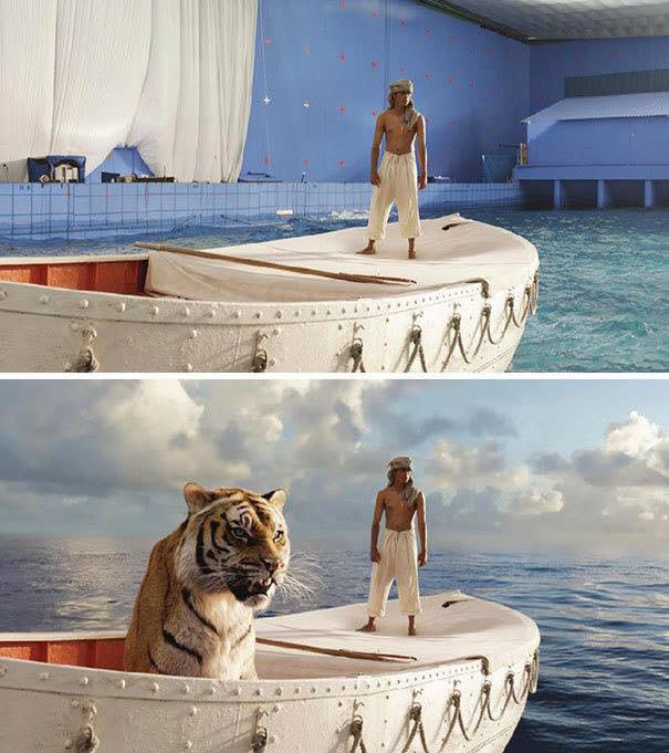 Behinde the scenes of some great movies - Life of Pi