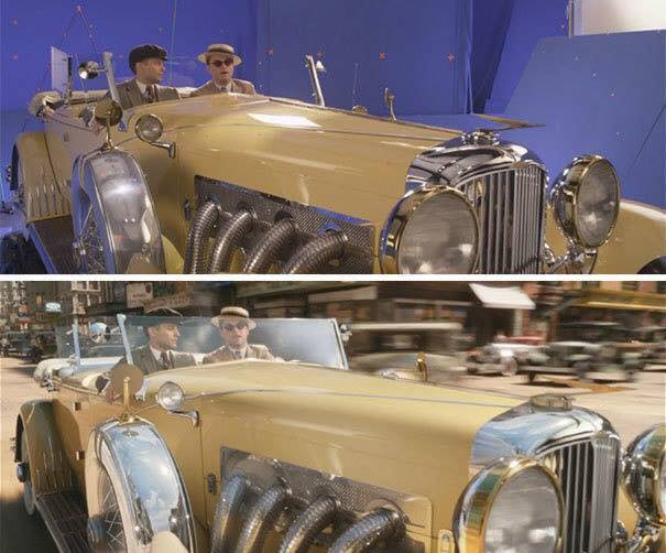 Behinde the scenes of some great movies - The Great Gatsby