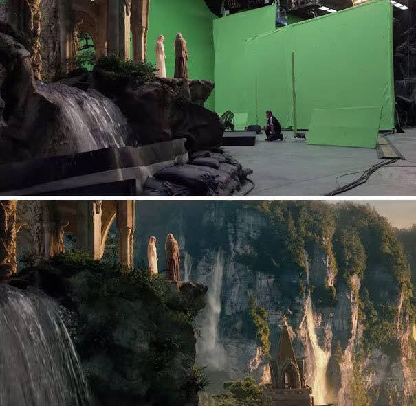 Behinde the scenes of some great movies - lORD OF tHE rINGS