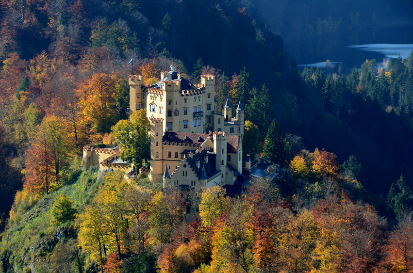 Most Amazing Castles - Castle Hohenschwangau, Germany