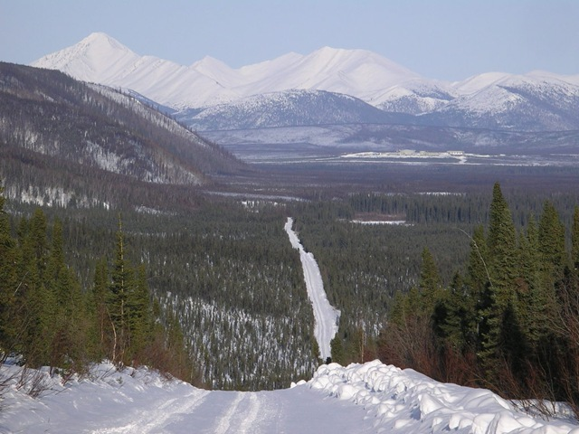 Coldest places in the world- Snag- Yukon, Canada