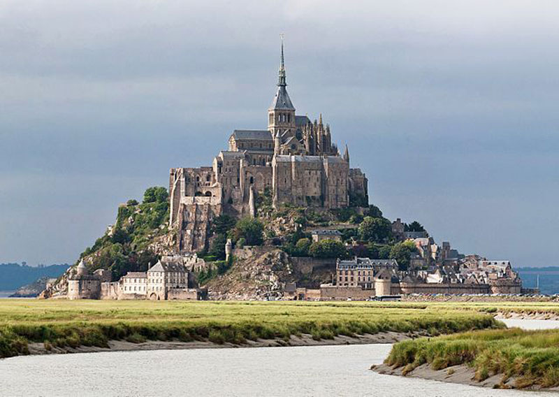 Most Amazing Castles - Mont Saint Michel, France