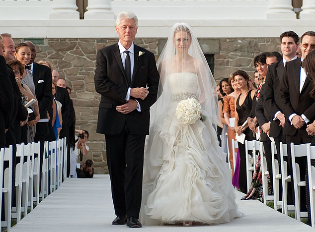 Most Expensive weddings - Chelsea Clinton and Marc Mezvinsky