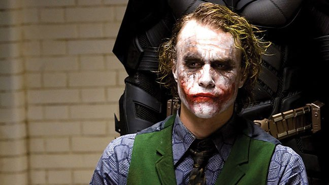 Most intense method actors - heath ledger the dark knight joker