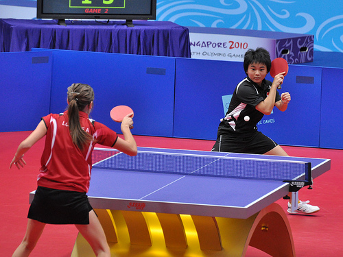 Most popular sports in the world - Table Tennis