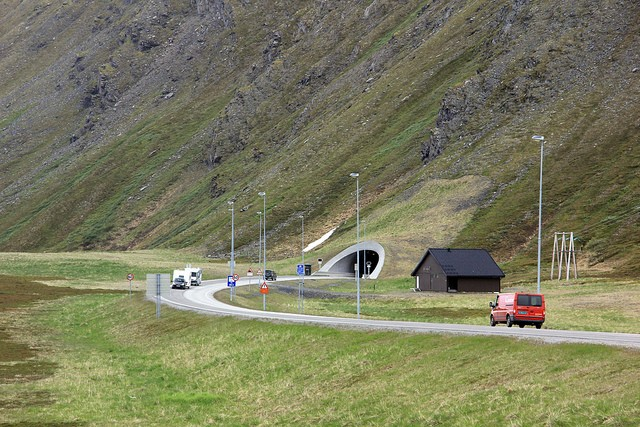 Underwater Tunnels - North Cape tunnel