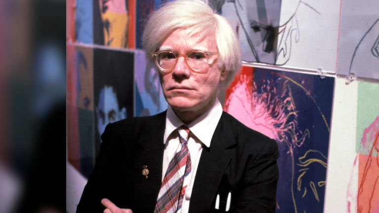 celebs earning after death - Andy Warhol