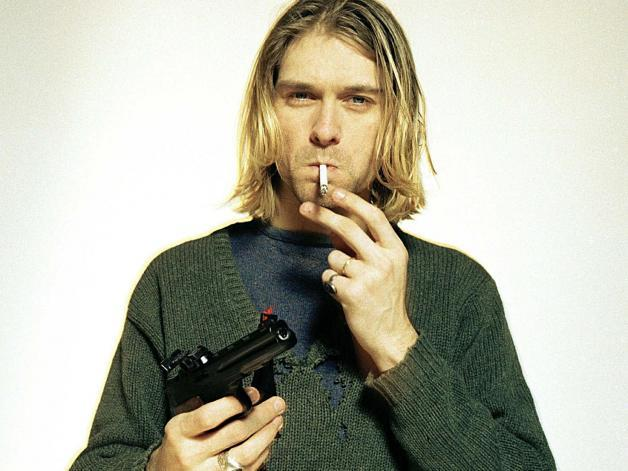 celebs earning after death - Kurt Cobain