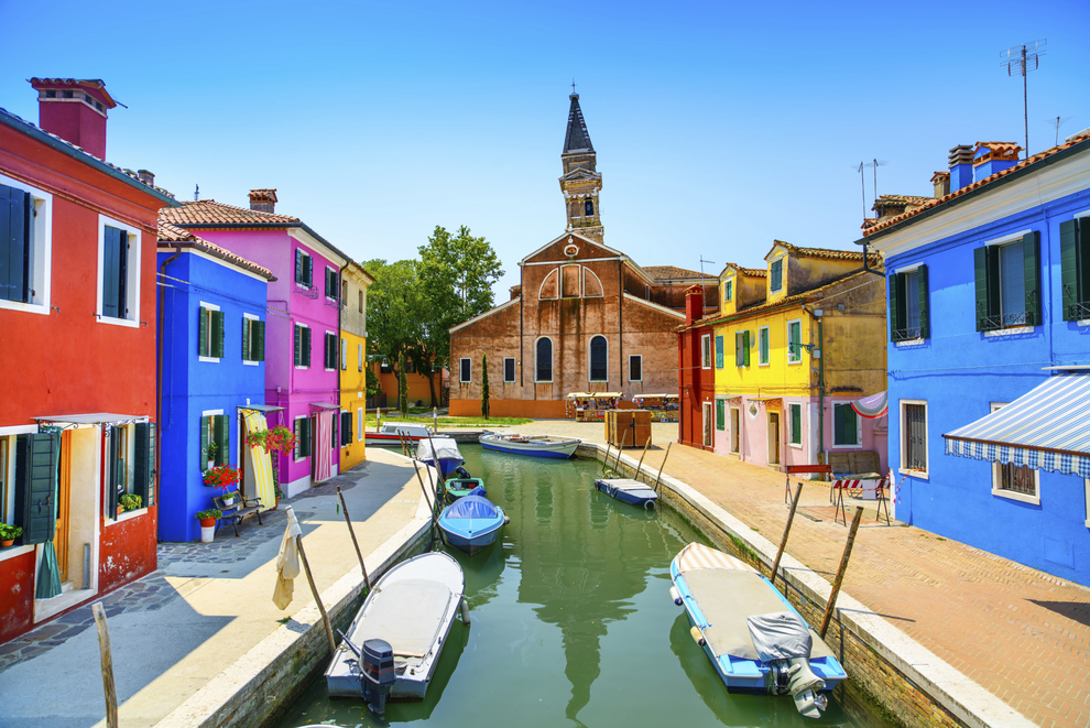 Amazing places - Burano, Italy