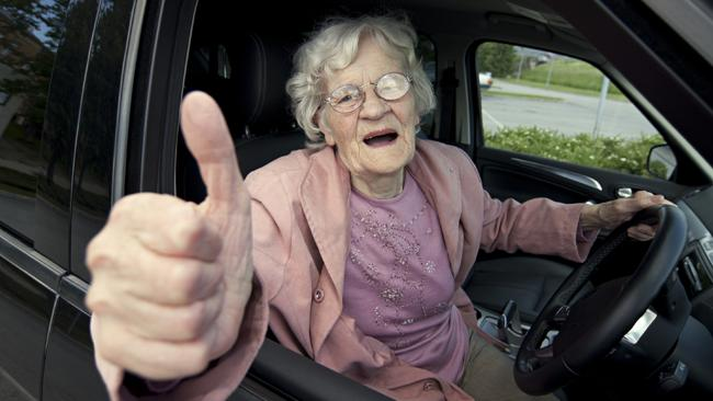 Self Driving cars making life better - Senior Citizens driving