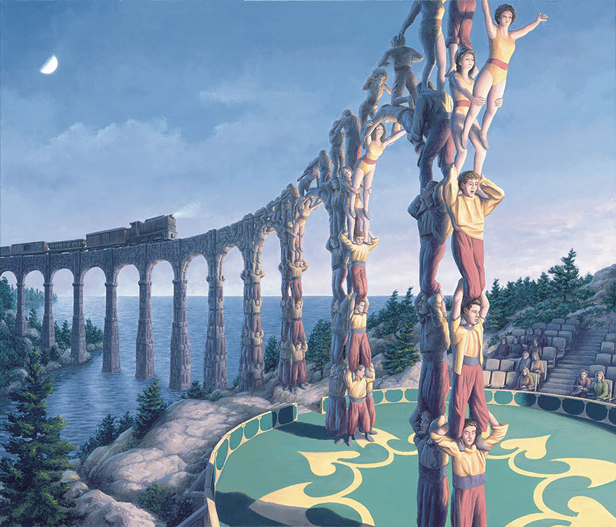 Amazing paintings by Rob Gonsalves