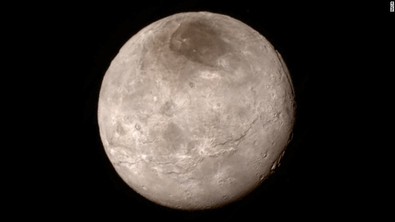 Closest Images of Pluto- New Horizon 1