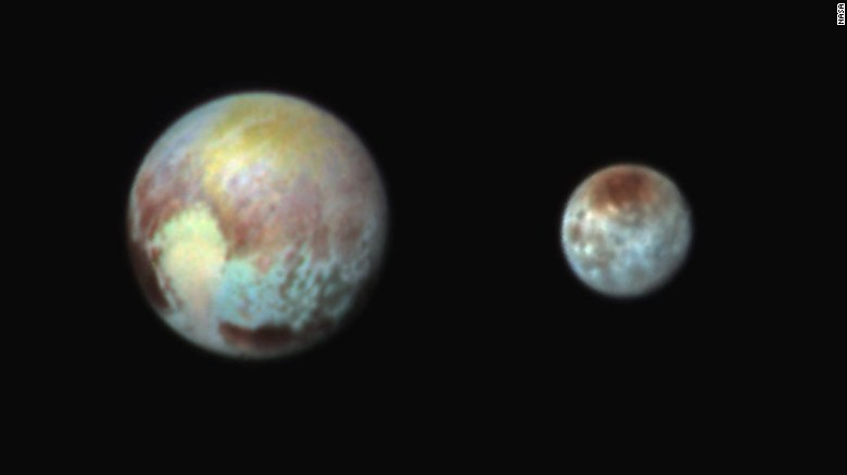 Closest Images of Pluto- New Horizon 2