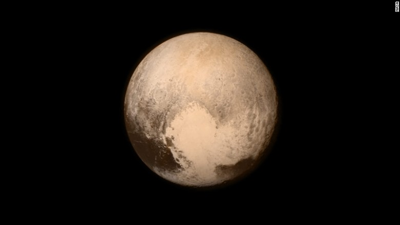 Closest Images of Pluto- New Horizon on July 13