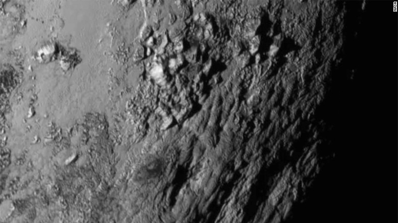 Closest Images of Pluto- New Horizon