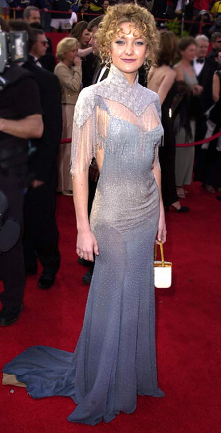 Kate-Hudson-2001, Awful dresses wore by celebs at Oscars