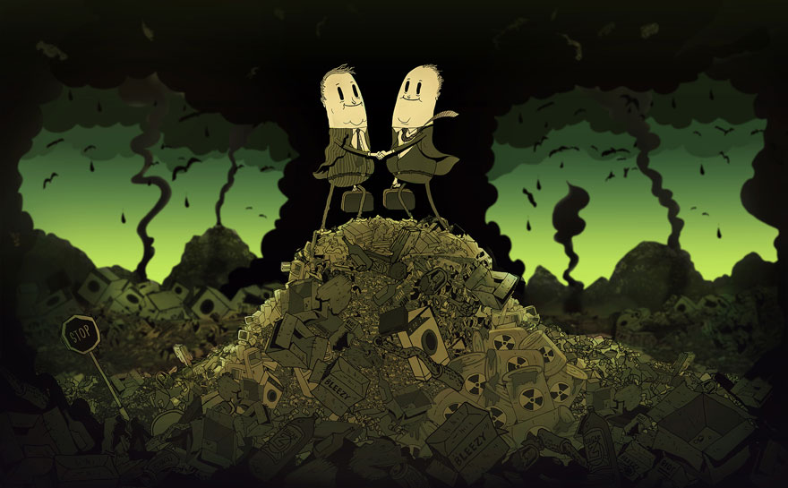 Illustrations By Steve Cutts