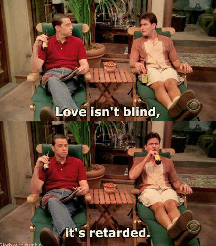 Two and half men, two and a half men quotes, hilarious pictures, funny pics, funny pictures, hilarious conversations, funny jokes, charlie, alan, jake, bertha, quotes on two and half men, charlie harper