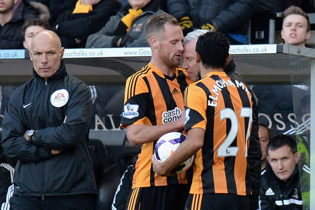 Alan Pardew headbutted David Meyler