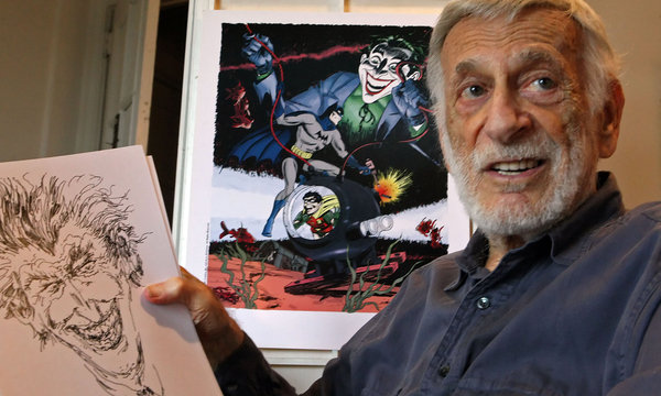 Best DC Comic Artists - Jerry Robinson