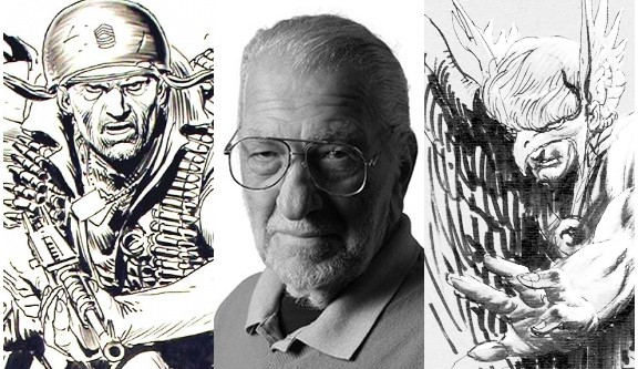 Best DC Comic Artists - Joe Kubert