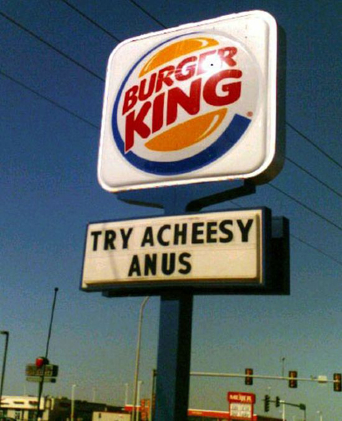 Brands With Funny Banners