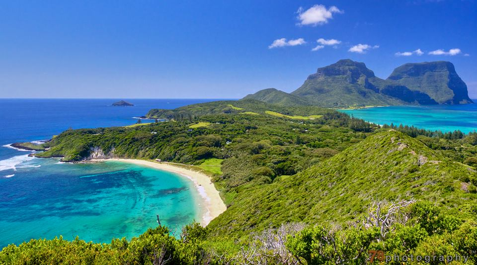 Escape to Lord Howe Island in NSW
