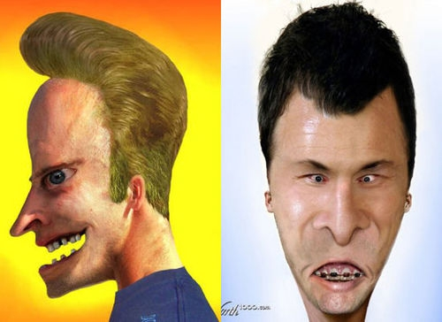 If Cartoons characters were made for Adults - beavis