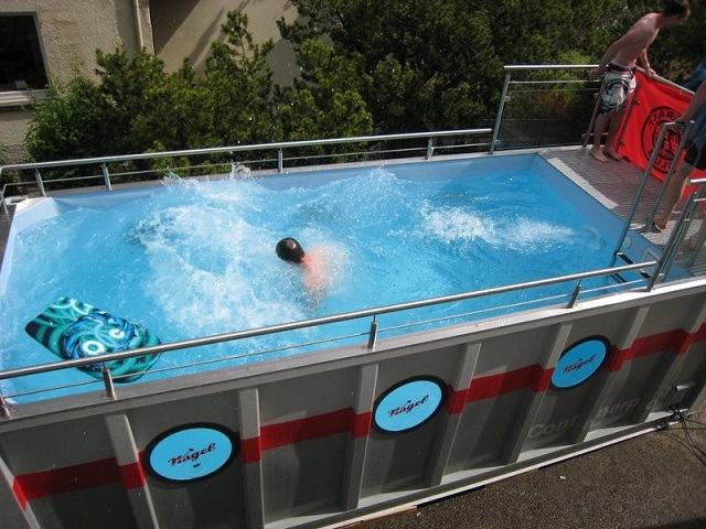 Innovative Temporary Swimming Pools