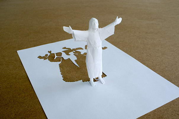 Outstanding Paper Sculptures by Peter Callesen