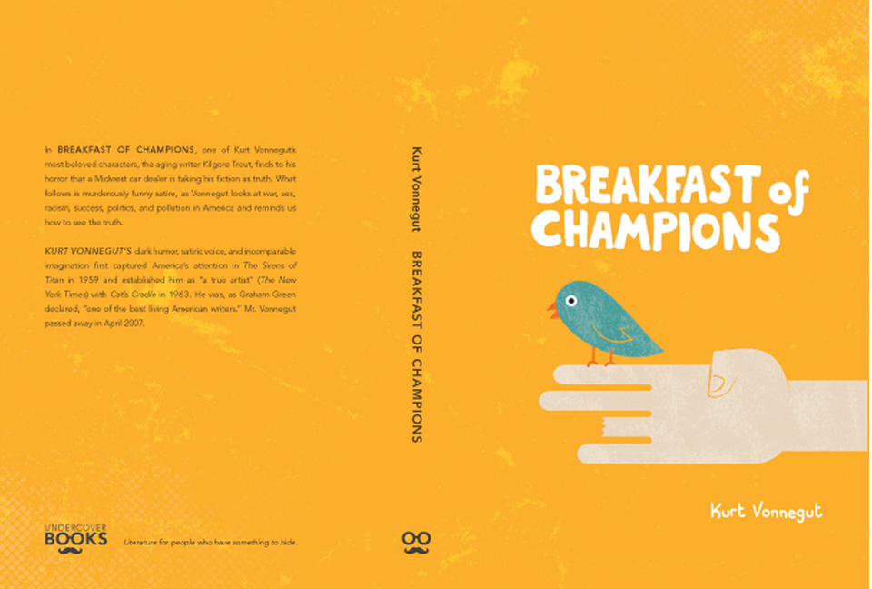 book vs film - breakfast of champions