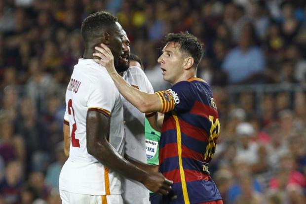 messi headbutt