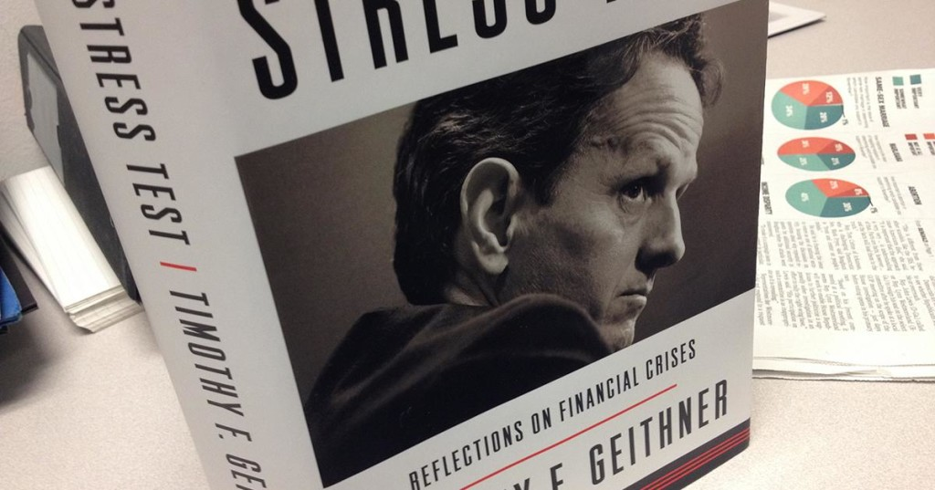 Best Books of 2014 - Stress Test Timothy Geithner cover