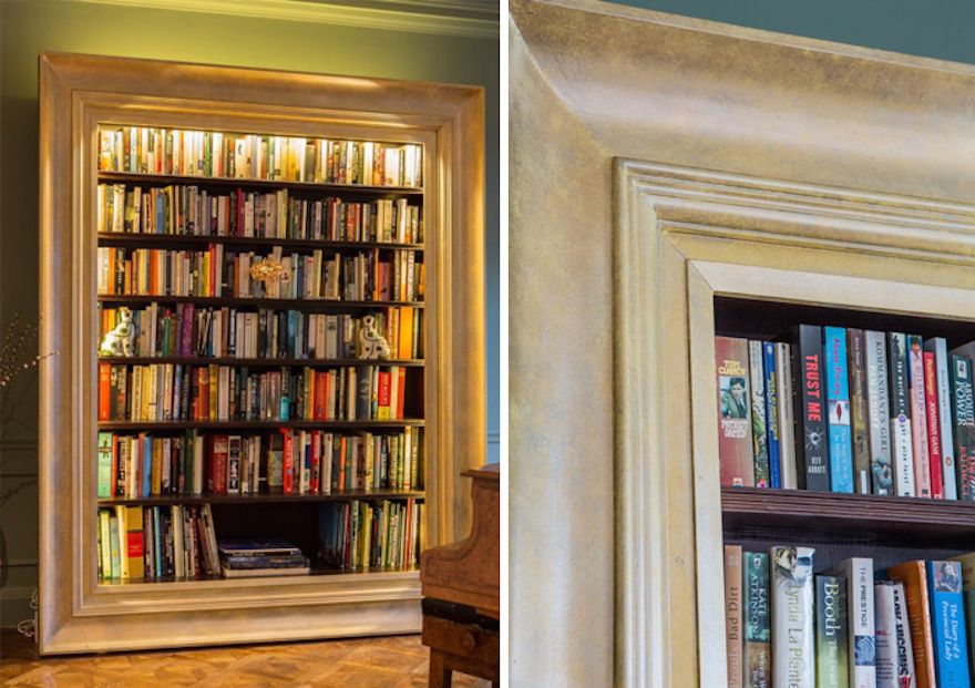 Diy brighten up your bookshelf and reading life