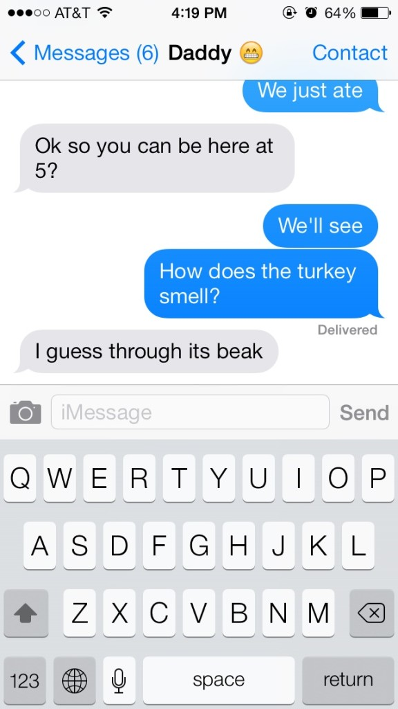 Dads making awesome puns