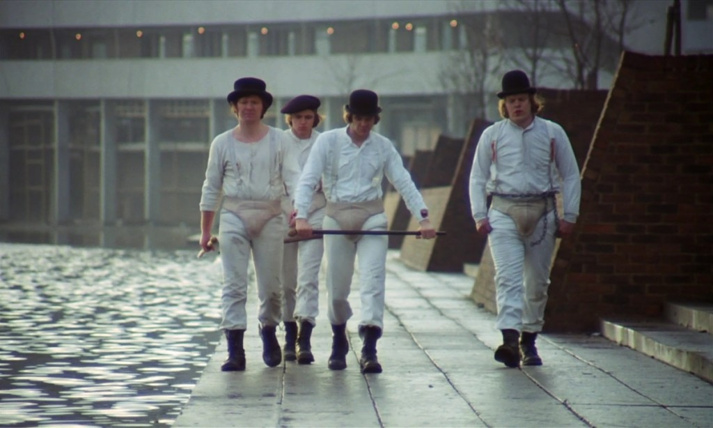 Futuristic societies we wish were true - Clockwork Orange