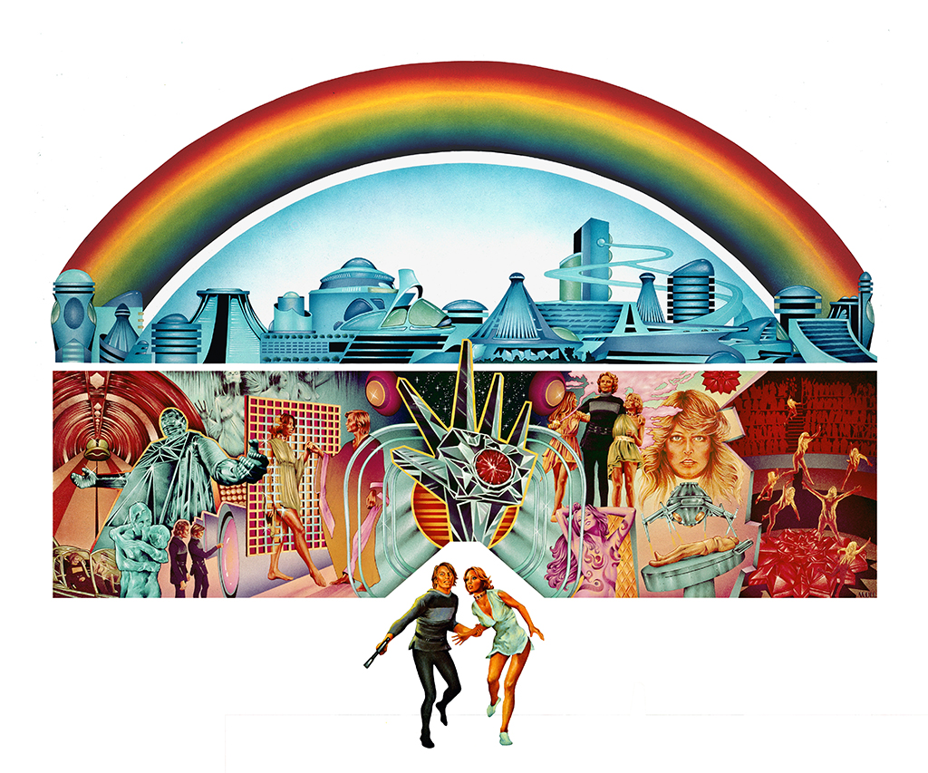 Futuristic societies we wish were true - Logan's Run