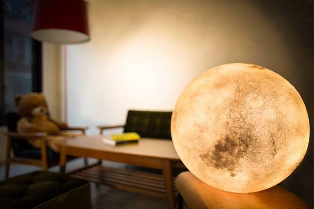 Moon inspired Lamps
