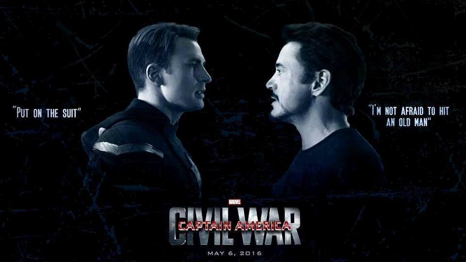 Movies to look for in 2016 - Captain America- Civil War