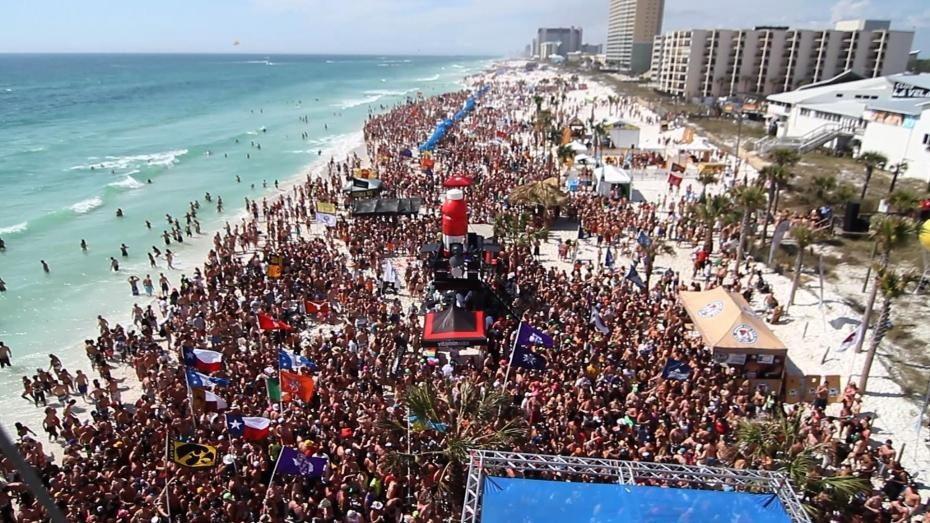 Top party Destinations in the world - Cancun, Mexico crazy parties