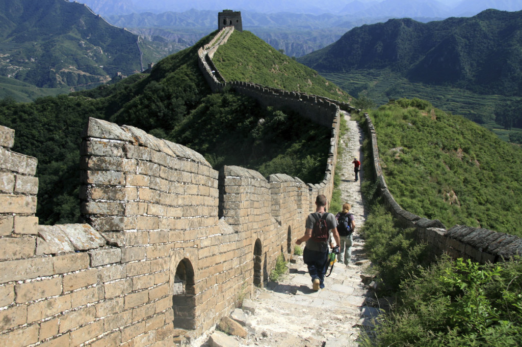 Top things on Bucket Lists - Walking The Great Wall Of China