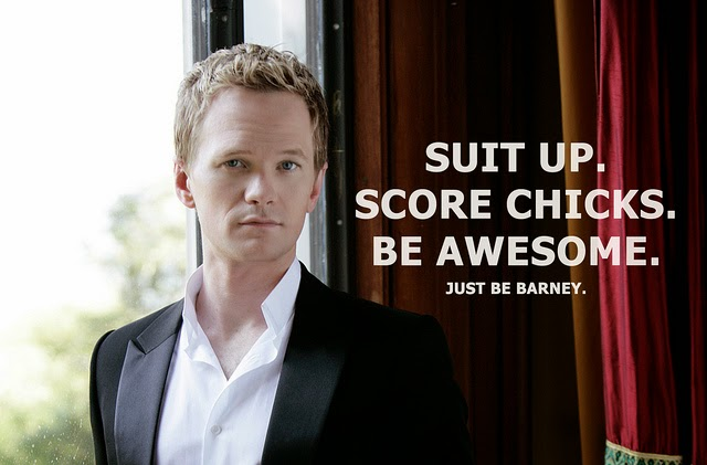 quotes, Barney Stinson, How I met your mother, Awesome quotes