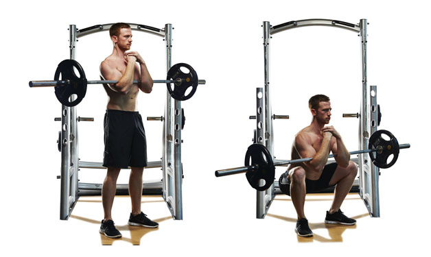 8 Types of Squats You Should be doing - Zercher Squats