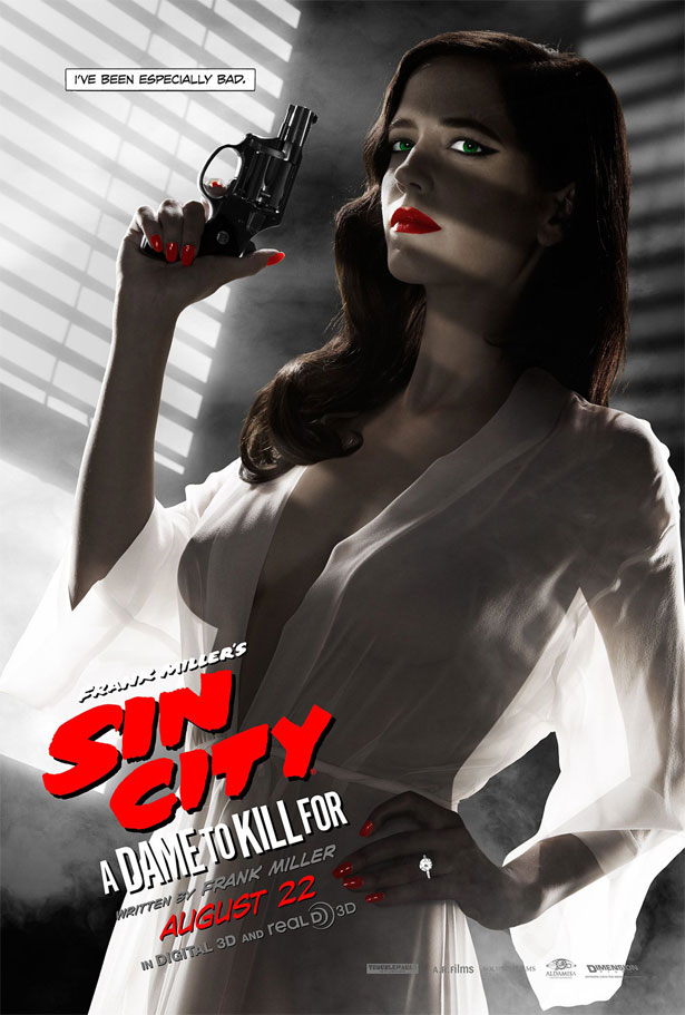 Banned movie posters - SIN CITY 2 A DAME TO KILL FOR